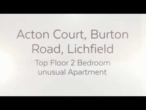 Acton Court, Lichfield - 2 Bedroom Apartment For Sale