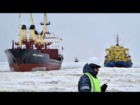 News Update China to develop Arctic shipping routes opened by global warming 26/01/18