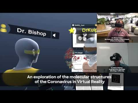 COVID19 in VR: Exploring Coronavirus Molecules in VR with Dr. Kuiper