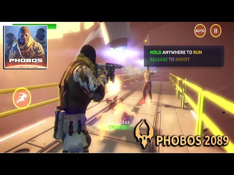 PHOBOS 2089: RPG Shooter Android Gameplay HD