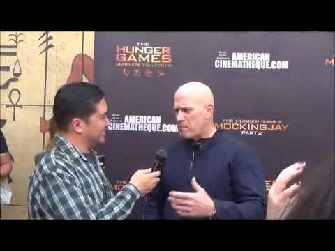 Bruno Gunn  at The Hunger Games  Experience
