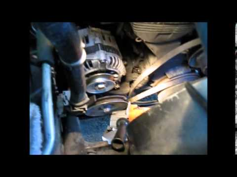 Removing alternator from 1996 Mazda mpv 4X4 - YouTube