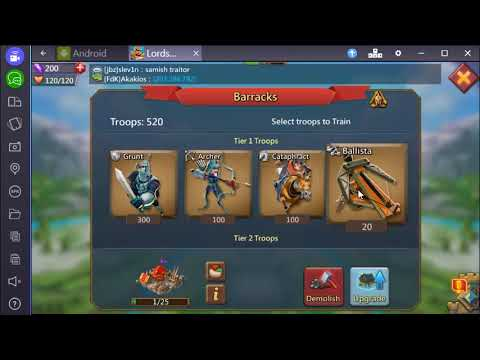 How To Play Lords Mobile Game - Basic Tutorial [Bangla] Part 1