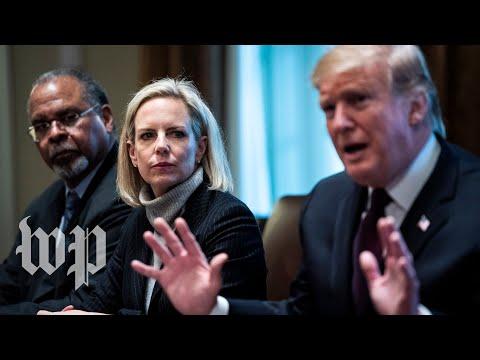 DHS Secretary Kirstjen Nielsen leaving Trump administration