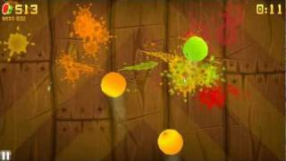 Fruit Ninja HD (PC) - Arcade Mode Gameplay