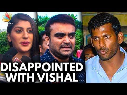 Being a Friend, Vishal Didn't Help Me | Yaashika & Actor Udhaya Speech