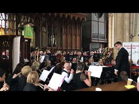 English Folk Songs Suite performed by Newark and Sherwood Concert Band and Delta Concert Band