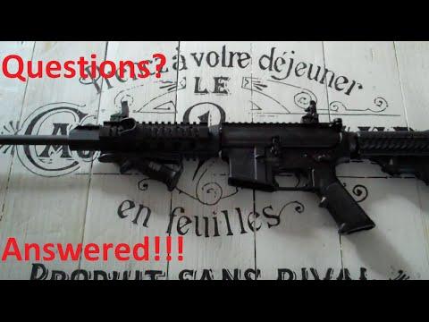 Civilian AR15 vs. Hunting Rifle vs. Military Rifle