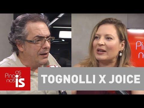 Joice X Tognolli: A candidatura de Bolsonaro