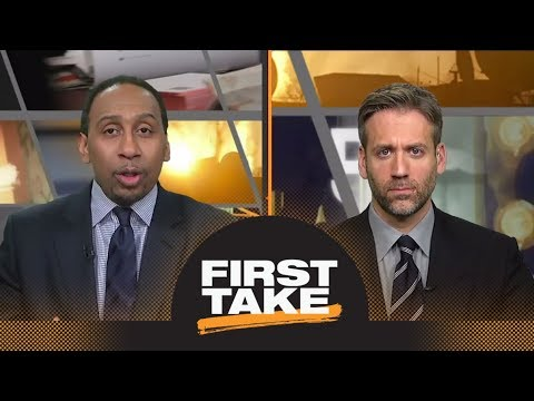 Stephen A. and Max react to Michael Wilbon's take on Blackhawk fans' taunts | First Take | ESPN