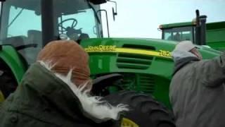 2005 JD 7820 Tractor with 560 hours: Inwood, IA Feb. 11, 2011