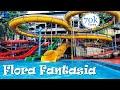 Fun water rides at Flora fantasia Amusement park, Valancheri, Kerala, India | Trip Dude