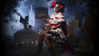 Fantasy Portrait: The Day of the Dead - Photography and Video Lighting Tutorial