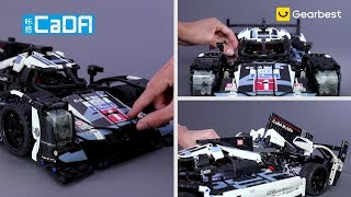 CaDA Stylish Racing Model Assembling Educational Toy - Gearbest.com