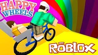 Roblox: ESTAMOS NO HAPPY WHEELS ?! - (Happy Wheels Obby)