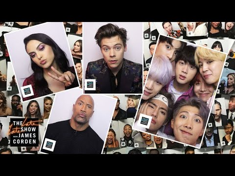 Year Three Of The Late Late Show Photo Booth