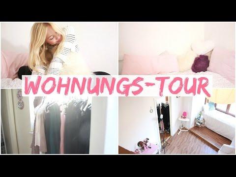 WOHNUNGS-TOUR I SCHLAFZIMMER, WOHNZIMMER, KLEIDERSCHRANK, BAD ...
