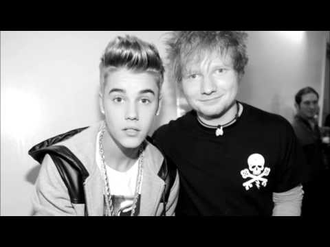 Ed Sheeran and Justin Bieber Mashup- Lyrics- Love Your Photograph