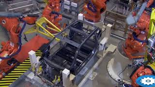 Automated manufacturing-robots