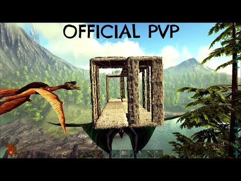 NEW QUETZAL TAME w/ Large Pen Addition - Official Server (E88) - ARK Survival