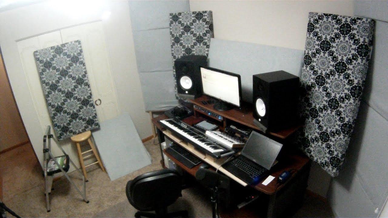 Living Room VS Bedroom Home Studio - YouTube