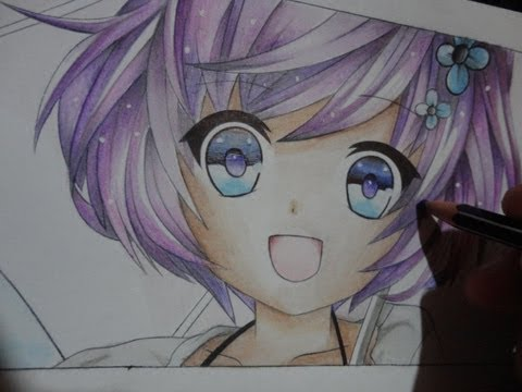 DIBUJANDO CHICA ANIME  DRAWING ANIME GIRL   YouTube