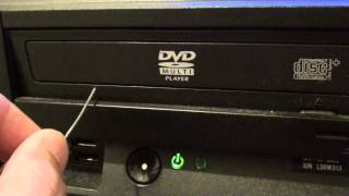 Video How to Eject a Stuck DVD Drive on the Computer download MP3, 3GP, MP4, WEBM, AVI, FLV Juli 2018