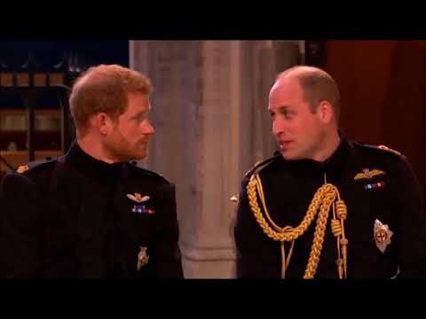 Prince Harry And William Traveller Argument - Davy Joyce And Jimmy Gilheany