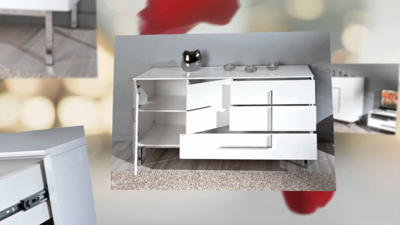 Living Room Furniture White Gloss white gloss living room furniture - youtube