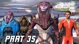 Mass Effect Andromeda Walkthrough Part 35 - AYA (PC Ultra Let's Play Commentary)