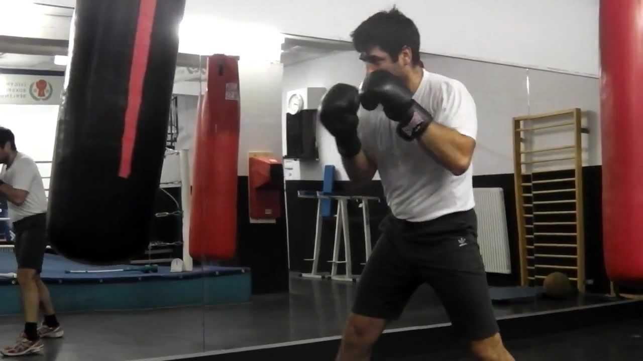 Boxing Sandbag Training Part 1