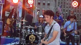 Jonas Brothers Today Show Soundcheck - Much Better