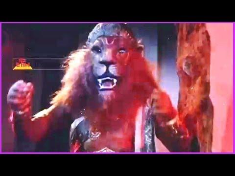 Sri Maha Vishnu Narasimha Avatharam In Climax Scene - Bhaktha Prahlada Telugu Movie