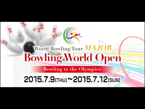 Bowling World Open, Tokyo, July 9-12, 2015, for bowling's in