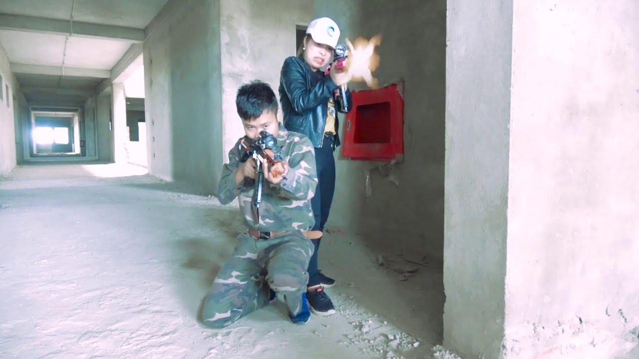 XPK Nerf War : SEAL X Warriors Nerf Guns Fight Criminal Group Joker Crazy Rescue Best Friend