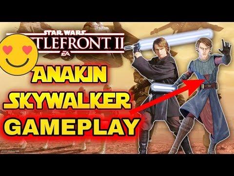 ANAKIN SKYWALKER ANIMATIONS GAMEPLAY + NEUE INFOS ! Star Wars Battlefront II thumbnail