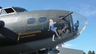 World War II navigator flies in Boeing B-17 bomber again