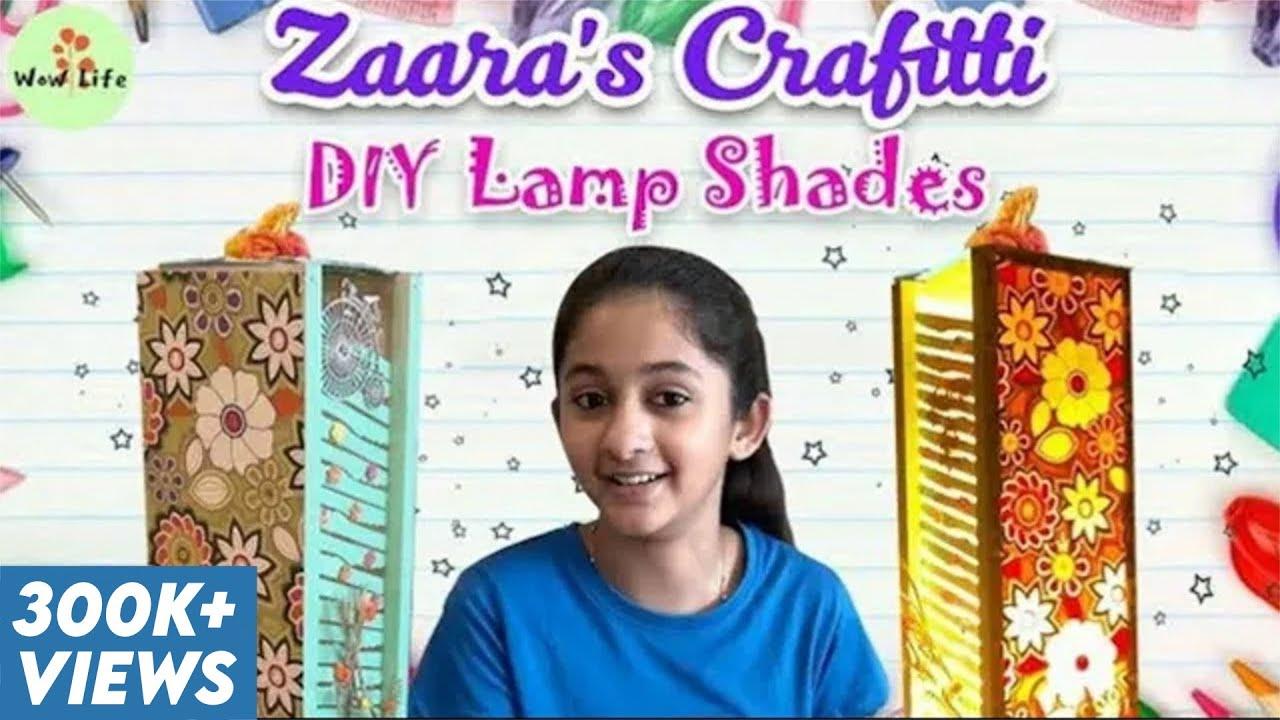 Lamp Shades    DIY    Zaara's Crafitti    Wow Life