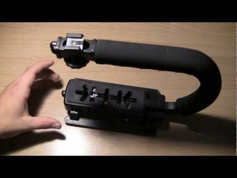 foregrip  Deluxe Video Bracket for Camcorders, DSLR Cameras and Point and Shoot Cameras
