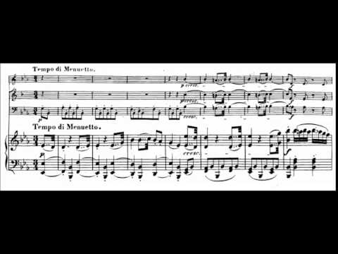Beethoven - Trio for piano, clarinet (or violin) & cello  (arr. of septet, Op. 20), Op. 38