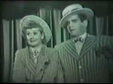 Lucille Ball  amp  Desi Arnaz Vaudeville Act 1953 Music  amp  Wit