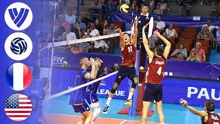 France vs. USA - Full Match | Group 1| Men's Volleyball World League 2017
