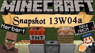 Minecraft Snapshot 13w04a [Deutsch] [HD] - Scoreboard, Quests, Dispenser-Funktionen & viel Mehr!
