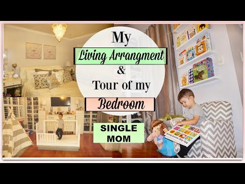 SINGLE MOM VLOG   Living Arrangement & Tour of My Bedroom!