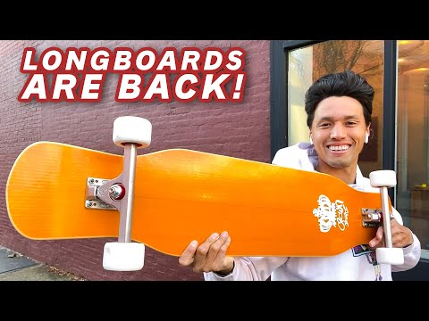 Long Boards Are Making A Comeback!