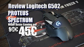 Review Logitech G502 RGB | Casi Perfecto