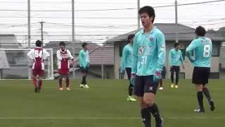 後半31分、田村亮介選手がPKを獲得し、自ら決める。 トレーニングマッチ...