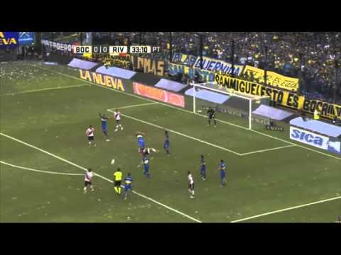 """""""La Boba"""" por D'Alessandro - Boca 0 - 0 River - Transición 2016"""