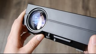 Обзор проектора GM60 за $74 - review(Купить LED проектор GM60 - http://goo.gl/e2naEC, распродажа аксессуаров Xiaomi - http://goo.gl/JN9tDk --------------------------------------------------------..., 2016-03-07T11:59:59.000Z)