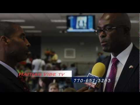 Delta Airlines Inauguration - Direct Flight from ATL to Haiti [4-07-2012]